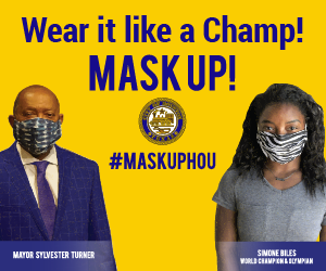Mask Up with Simone Biles, Small Graphic